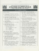 Center Happenings, October 1986