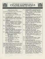 Center Happenings, February 1987