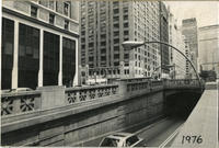 Park Avenue Tunnel entrance near 33rd Street, 1976