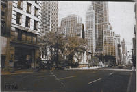 Fifth Avenue looking north from 40th Street, 1976.