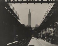 34th Street looking west from Second Avenue, 1931.