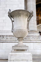 Urn, New York Public Library, 475 Fifth Avenue, 2008