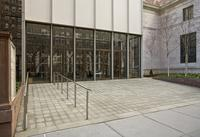 Entrance, Morgan Library, 225 Madison Avenue, 2009