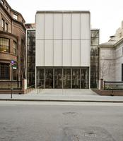 Facade, Renzo Piano addition to the Morgan Library, 2009