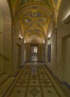 Corridor, Morgan Library, 2009