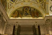Lunette, Rotunda, Morgan Library, 2009