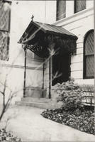 Entrance, The New Church, 112 East 35th Street, 1977.
