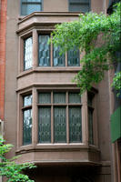 Bay windows, 127 East 35th Street.