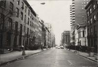 View down East 35th Street, 1976.