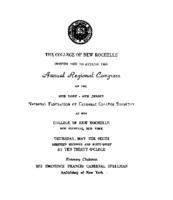 1948 New York - New Jersey Region conference