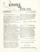 Cross and Color Volume I, No. 2 December-January '54