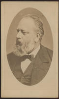 Carte de Visite, Christian Albert Th. Billroth