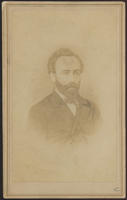 Carte de Visite, Abraham Jacobi by Brady's National Photographic Portrait Gallery
