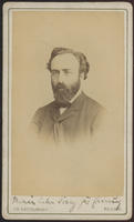 Carte de Visite, Abraham Jacobi by C.H. Reutlinger