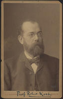 Carte de Visite, Robert Koch