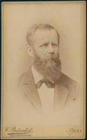 Carte de Visite, Carl Wilhelm Hermann Nothnagel, right facing
