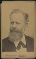 Carte de Visite, Carl Wilhelm Hermann Nothnagel, left facing