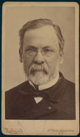 Carte de Visite, Louis Pasteur, with spectacles