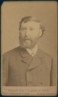 Carte de Visite, Adam Politzer, facing forward