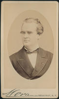 Carte de Visite, James Marion Sims, with oval frame