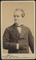 Carte de Visite, James Marion Sims, head and upper body portrait
