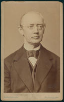 Carte de Visite, Friedrich Theodor von Frerichs, looking away from photographer
