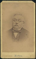 Carte de Visite, Ferdinand von Hebra, photographer William Engel