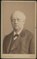 Carte de Visite, Hermann Ludwig Ferdinand von Helmholtz, facing left