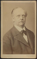 Carte de Visite, Hermann Ludwig Ferdinand von Helmholtz, facing right