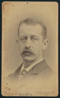 Carte de Visite, Joel Williston Wright