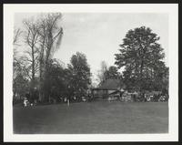 Baltimore Horse Show, grounds and crowd, undated [circa 1900-1910].