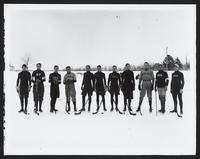 St. Paul's School (Garden City, N.Y.) hockey team, circa 1905.