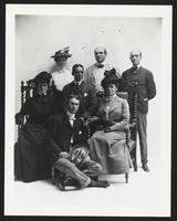 Burr McIntosh and unidentified companions, undated [circa 1900-1910].