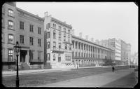 Colonnade Row (LaGrange Terrace), Lafayette Place (later Lafayette Street), New York City, undated (ca. 1890-1905).