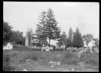 St. Paul's Church and cemetery, Eastchester, Bronx, New York City, September 22, 1912.