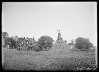 Old house and Budd's Mill, King's Highway (?), Flatbush, Brooklyn, undated (ca. 1890-1919).