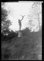 The Falconer,' statue in Central Park, New York City, 1889.