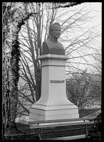 Bust of Alexander von Humboldt, Central Park, New York City, 1889.