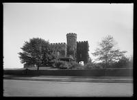 Libbey Castle (Woodcliff Castle), Washington Heights, New York City, 1913.