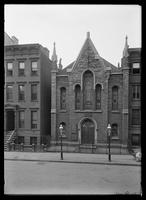 Janes Methodist Episcopal Church, Patchen Avenue and Monroe Street, Brooklyn, New York, undated (ca. 1882-1884).