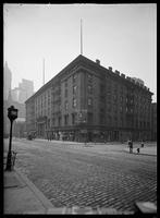 Astor House at Broadway and  Barclay Street, New York City, 1913.