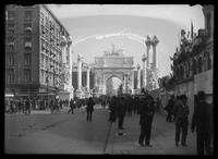 The Dewey Arch, Fifth Avenue at Madison Square, New York City, October 1, 1899.