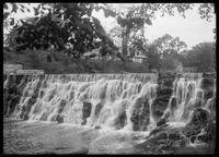 Waterfall, Bronx River at E. 180th Street, New York City, undated (ca. 1882-1919).
