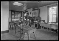 Kitchen of the Old Point Comfort Hotel, 4018 Boston Road, Eastchester, Bronx, New York City, undated (ca. 1900-1919).