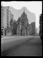 Broadway Tabernacle, on the northeast corner of Broadway and W. 56th Street, New York City, 1912.