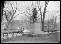 Statue of Roscoe Conkling, Madison Square Park, New York City, April 6, 1902.