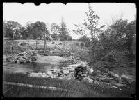 Unidentified stream, possibly in the Bronx, undated (ca. 1890-1919).