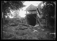 Unidentified ruined mill, possibly in the Bronx, undated (ca. 1890-1919).
