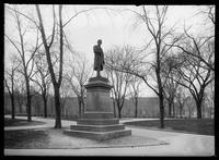 Statue of Dr. J. Marion Sims, Bryant Park, New York City, undated (1894-1919).
