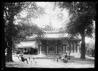 The Mineral Springs Pavilion, Central Park, New York City, undated (ca. 1895-1910).